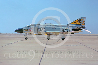 CAG 00023 McDonnell Douglas F-4 Phantom II USN VF-21 Aug 1972 by Peter J Mancus