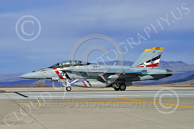 Boeing F-18F-USN 00301 A Boeing F-18F Super Hornet USN VFA-2 BOUNTY HUNTERS CAG NE code commanding officer's airplane USS Ronald Reagan on the runway for take-off at NAS Fallon 2-2015 military airplane picture by Peter J Mancus