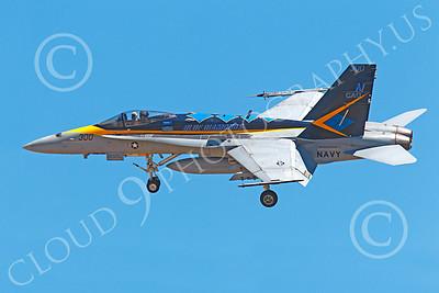 CAG 00200 McDonnell Douglas F-18C Legacy Hornet USN VFA-146 BLUE DIAMONDS USS Ronald Reagan, by Peter J Mancus