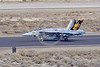 F-18E-USN-VFA-115 0011 A Boeing F-18E Super Hornet USN jet fighter 166859 VFA-115 EAGLES commanding officer's airplane USS Ronald Reagan rolls out after landing at NAS Fallon 3-2017 military airplane picture by Peter J Mancus     DONEwt