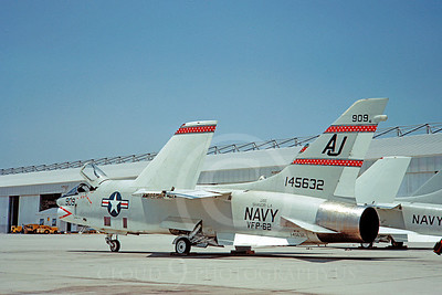 RF-8USN 00017 Vought RF-8 Crusader USN 145632 VFP-62 USS Shangri-La 25 May 1967 Ceceil Field by Clay Jansson