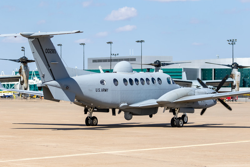 -(Aircraft) Beechcraft King Air 350ER EMARSS-M <br /> -(Nation & Service) United States Army <br /> -(Squadron/Command) United States Army Intelligence and Security Command<br /> -(Headquarters) Fort Belvoir, Virginia