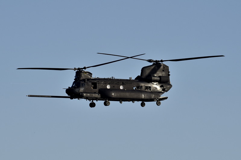 06-03768<br /> MH-47G<br /> <br /> 10/4/17 Hains Pt as ARMY 03768
