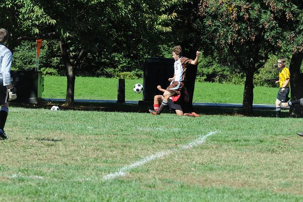 2010-10-02 Boys' JV Soccer 10-2-10