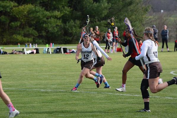2016-04-08 US Girls Lacrosse v St Andrews