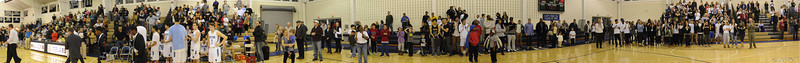 Panorama image of Westtown Fans.