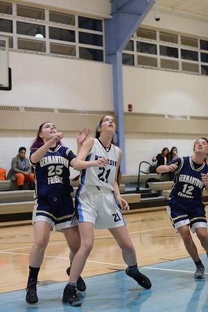 2015-12-11 Girls JV Basketball v Germantown Friends