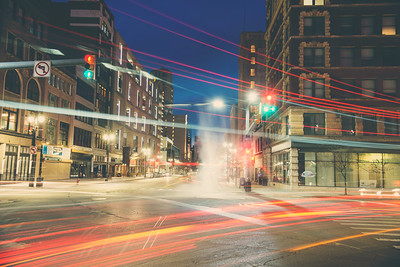 Detroit Light Trails
