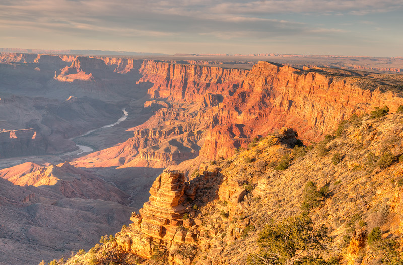 Desert Point Sunset