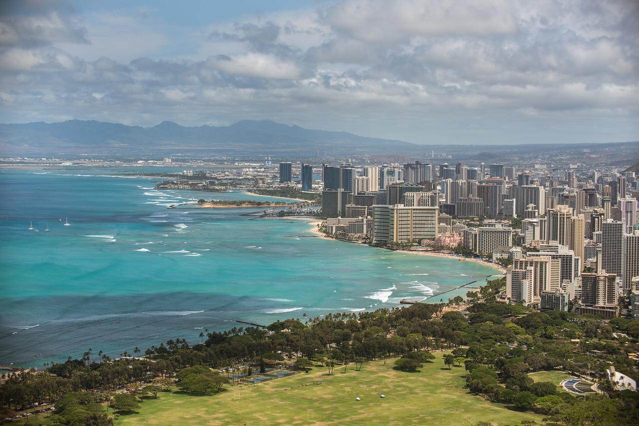 Waikiki Landscape