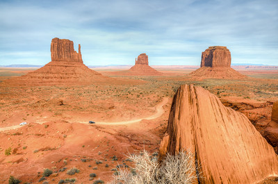 Monument Valley Grooves