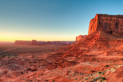 Sunrise on a Monolith