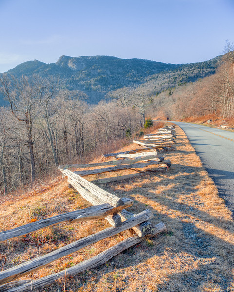 Parkway at Grandfather Mountain