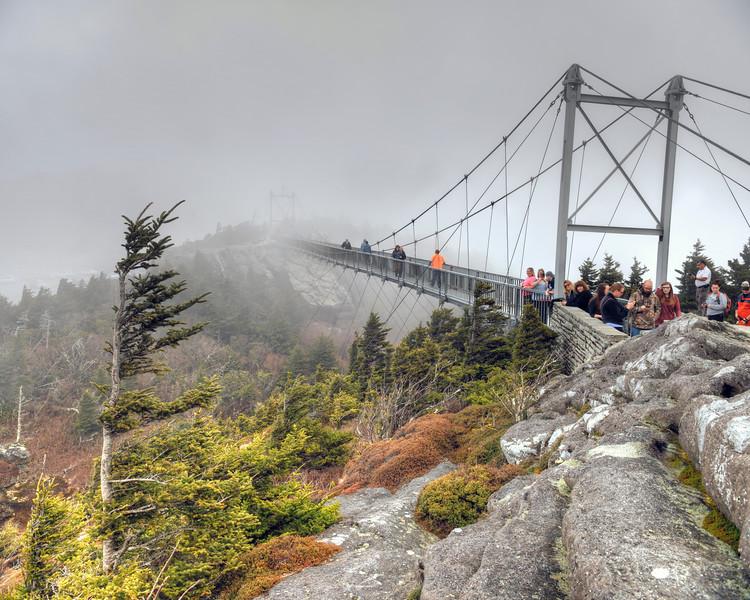 Swinging Bridge Fog