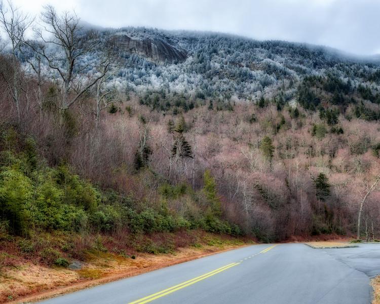 Grandfather Mountain Ice