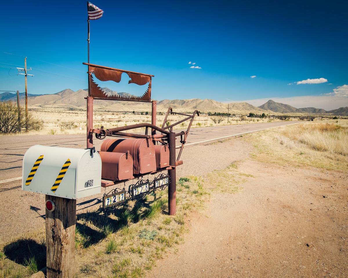 Desert Mailboxes