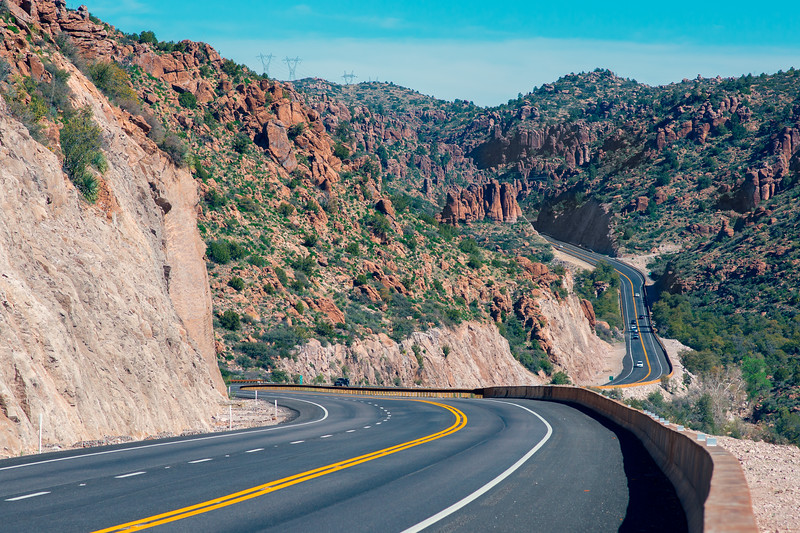 Superstition Mountains Highway