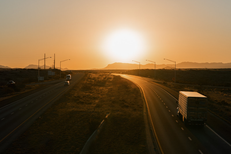 Interstate 10 Sunset