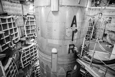 Complete with the hook ups to there silo, the Titan II Missile in southern Arizona is one of few remaining monuments to the Cold War. This former ICBM, thankfully, was never used in anger, but it is a breathtaking sight nonetheless. 2017.