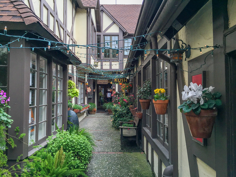 Exploring the village of Carmel-by-the-Sea, California