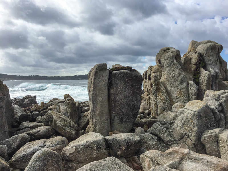 Rocky cliffs of Carmel River State Beach | Things to do in Carmel, California
