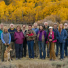 10/20/13 Eastern Sierra Workshop group. L-R: Kent, Claudia, Jim, Eileen, Eric, Beth, Bryan, Cassie, Chris, Fran, Michael, Charlotte, Dave