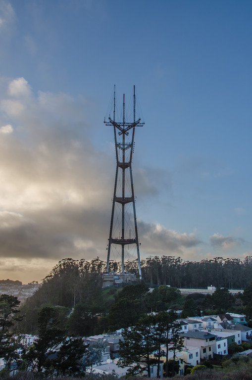 Sutro Tower from Twin Peaks , San Francisco