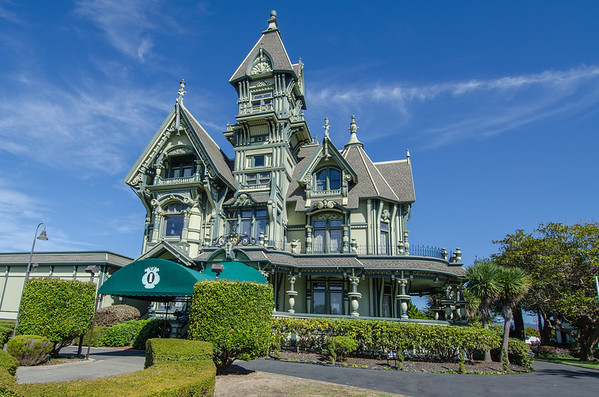 The Carson Mansion, Eureka, CA | Things to do in Humboldt County