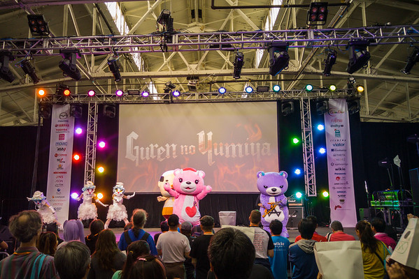 Guren no Yumiya at J-Pop Summit 2015