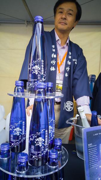 Sake tasting at Sake Summit 2015