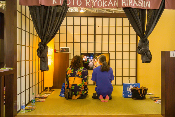 Ryokan exhibit at J-Pop Summit 2015