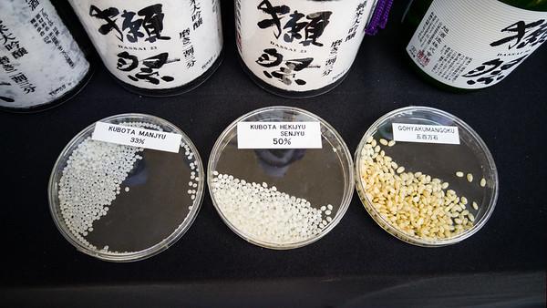 Rice milling demo at J-Pop Summit 2015