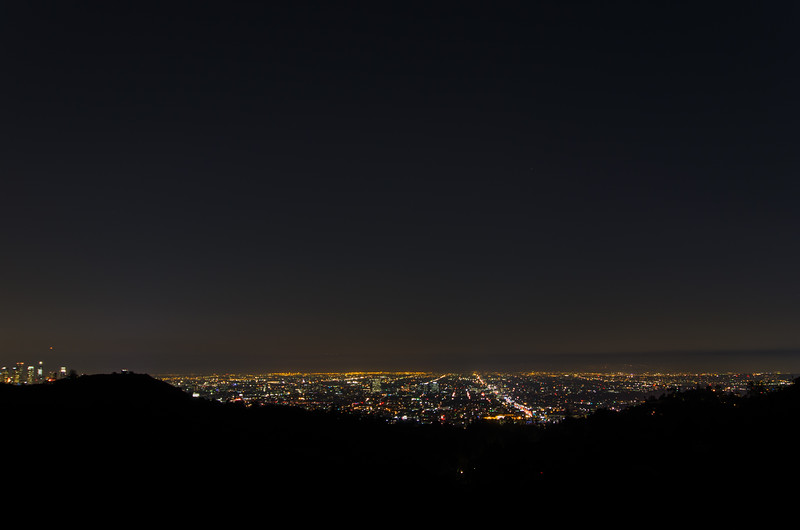 Los Angeles at Night: Views of L.A. from Griffith Park