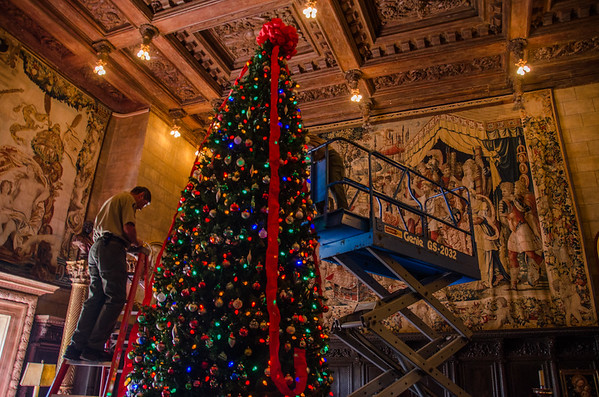 Christmas at Hearst Castle on the Central Coast