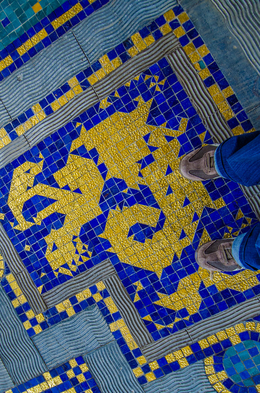 The extravagent Roman Pool, Hearst Castle, California
