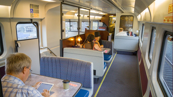 Amtrak California's Cafe Car