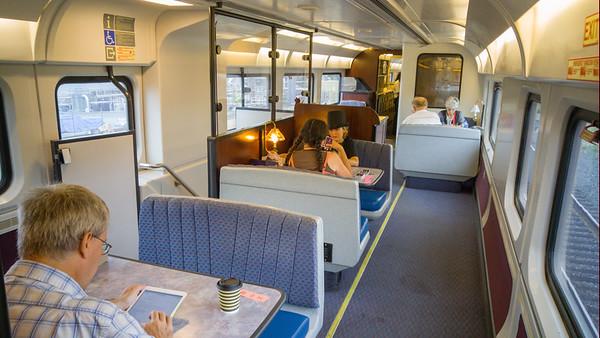 Amtrak California's Cafe Car