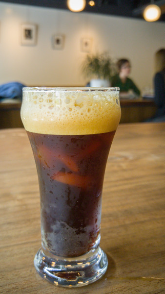 Nitro Coffee at Temple Coffee Roasters | One Day in Sacramento