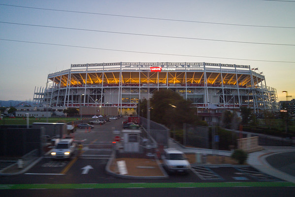 Take Amtrak to Levi's Stadium, Santa Clara