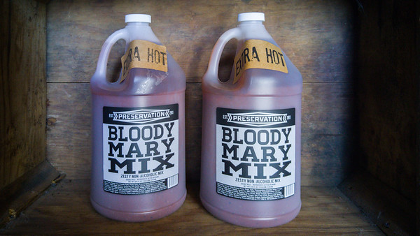 Preservation & Co's award-winning bloody mary mix   One Day In Sacramento