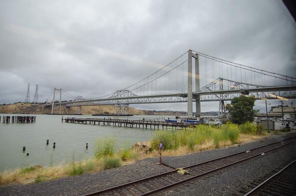 The Carquinez Bridge | Amtrak California Capitol Corridor