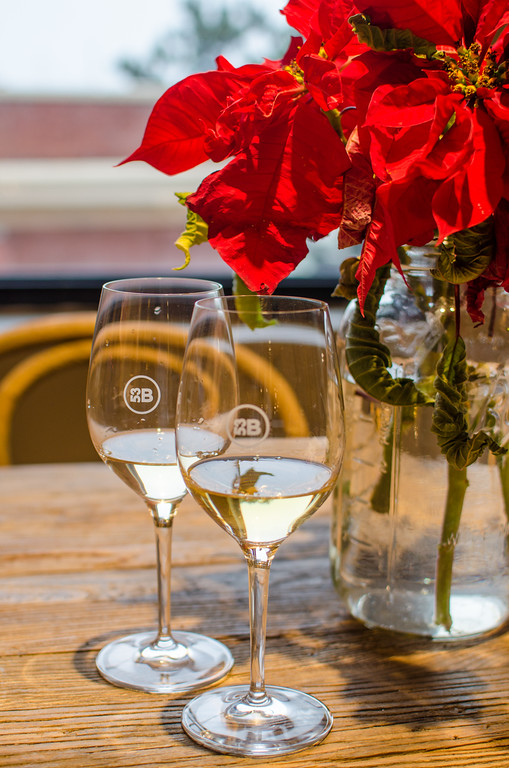 Wine tasting at Bluxome Street Winery in Ghiradelli Square, San Francisco