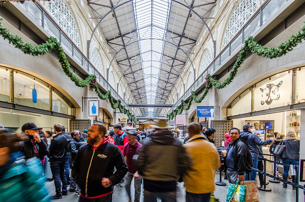 San Francisco Ferry Building during the Holidays