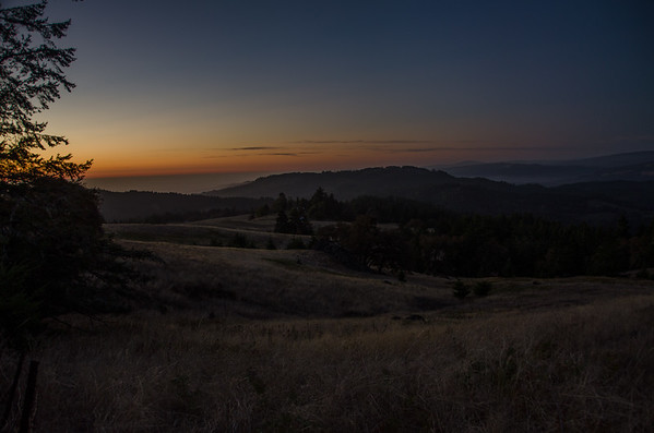 Sunset in Humbold County, California
