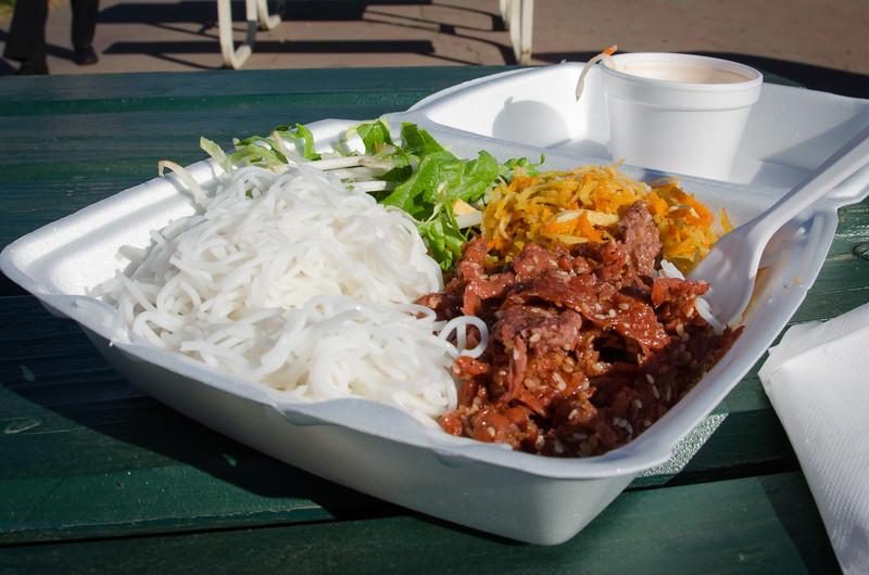 Vietnamese vegetarian food at Tet San Jose