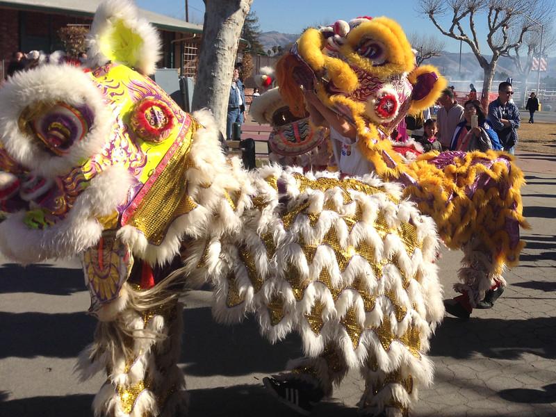 The Dragon Dance - celebrating Vietnamese New Year in San Jose, California