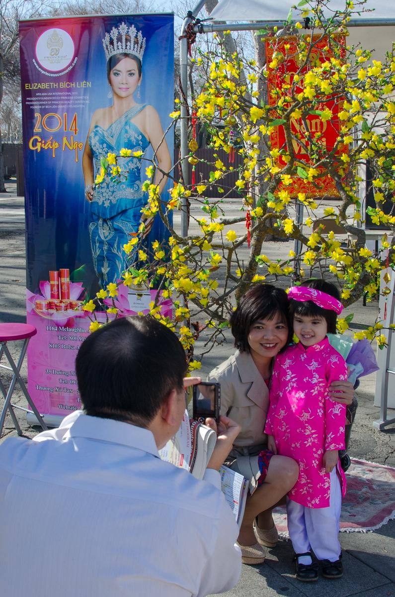 Celebrating Vietnamese New Year in San Jose, California