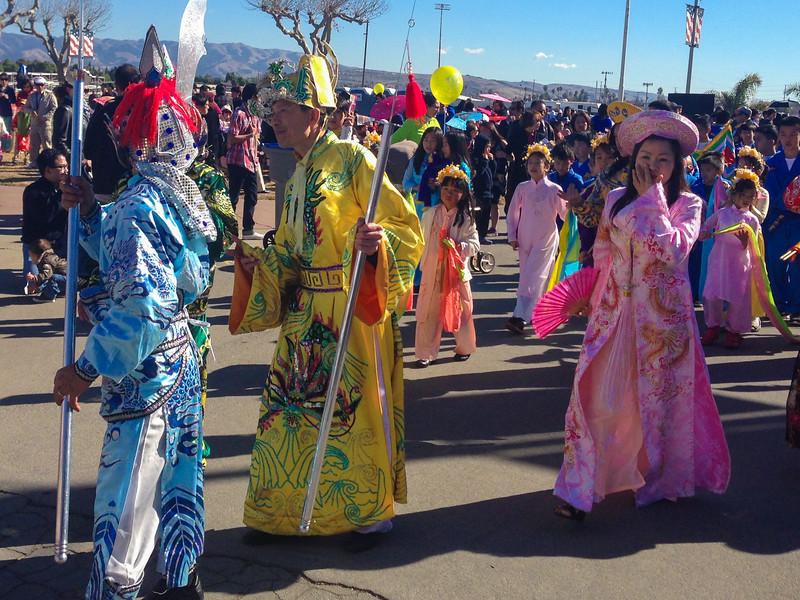 Celebrating Vietnamese New Year (Tet Festival) in San Jose, California