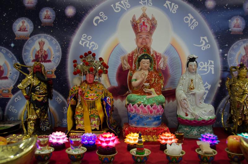 Buddhist culture at Tet San Jose