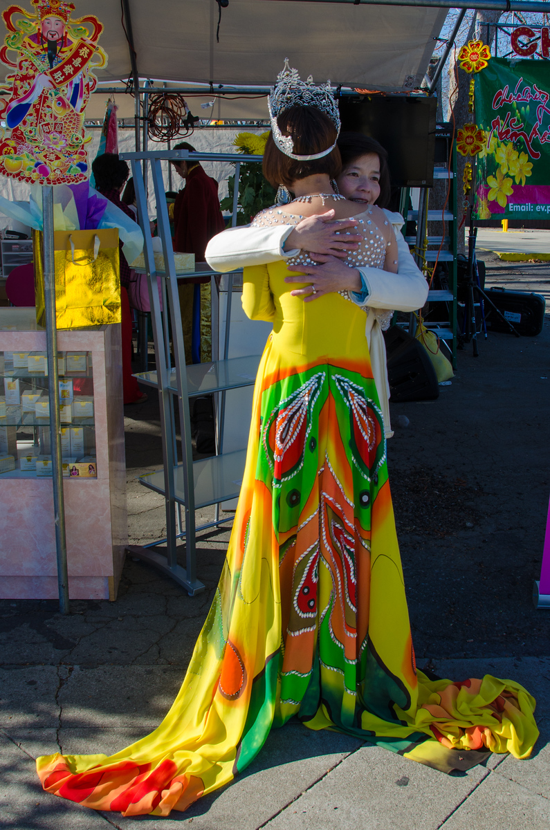 The queen of Tet San Jose. Celebrating Vietnamese New Year in California